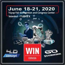 WIN Eurasia 2020 Exhibition Banner