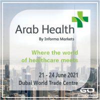 Arab Health 2021 Stand Design, Construction & Decoration