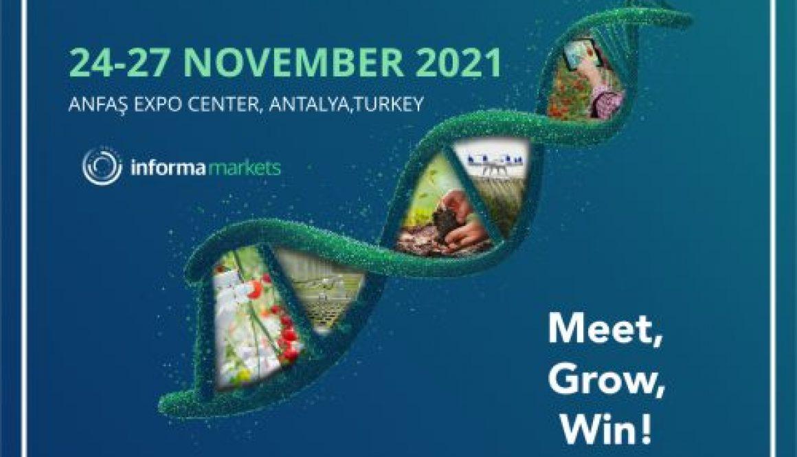 Growtech Antalya 2021 Exhibition Stand Design Services